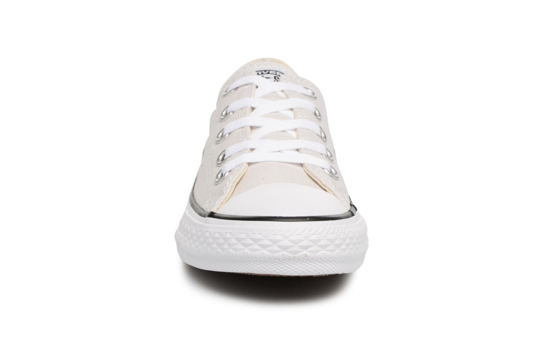 Baskets Converse Chuck Taylor All star pale putty Beige vue portées chaussures