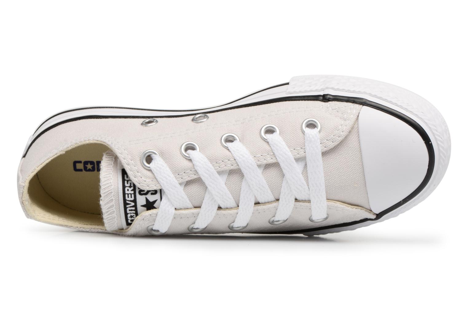 Sneaker Converse Chuck Taylor All star pale putty beige ansicht von links
