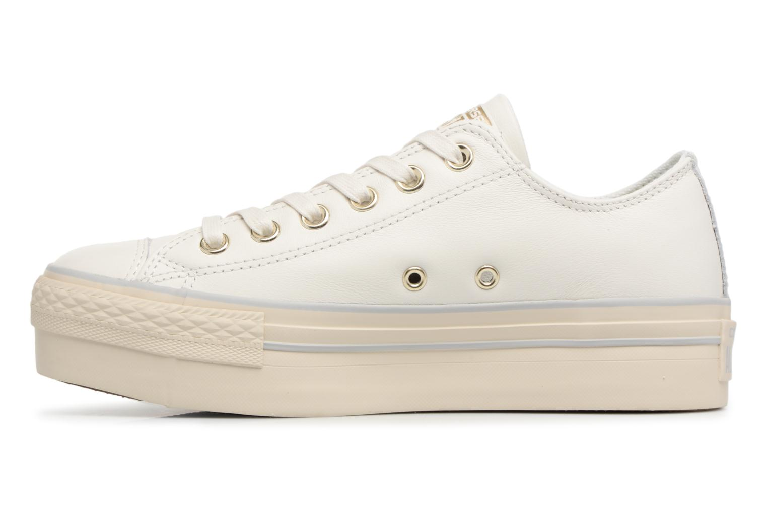 CTAS PLATFORM OX STAR STAR WHITE/LIGHT GOLD