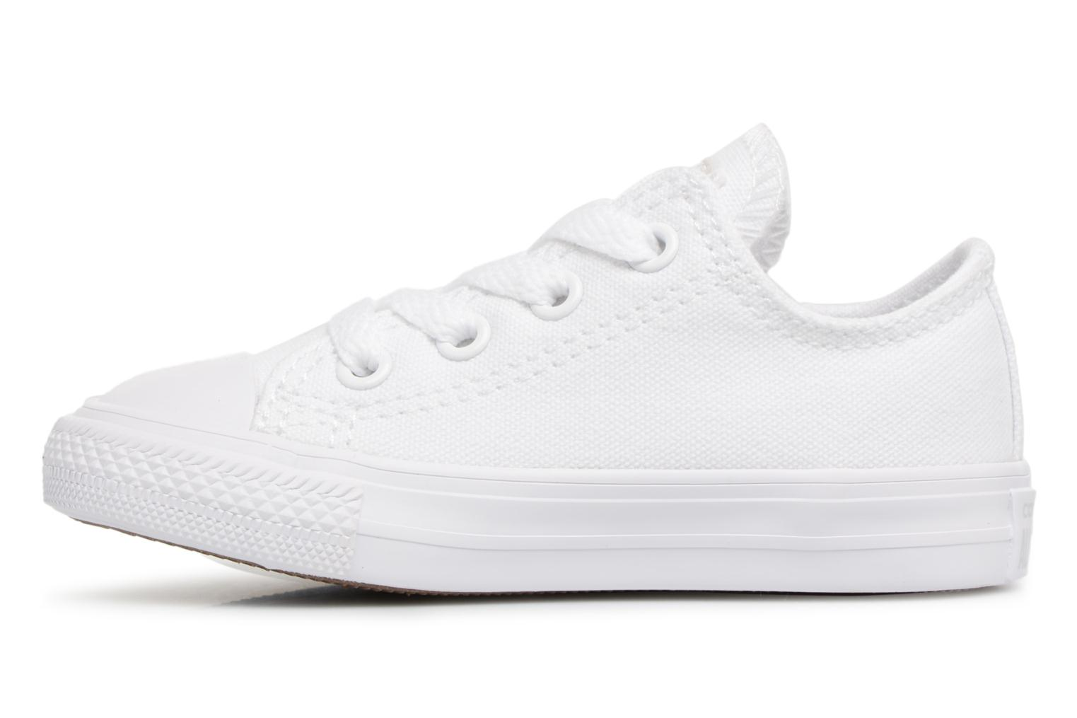 Baskets Converse CT AS OX WHITE MONOCHROME Blanc vue face