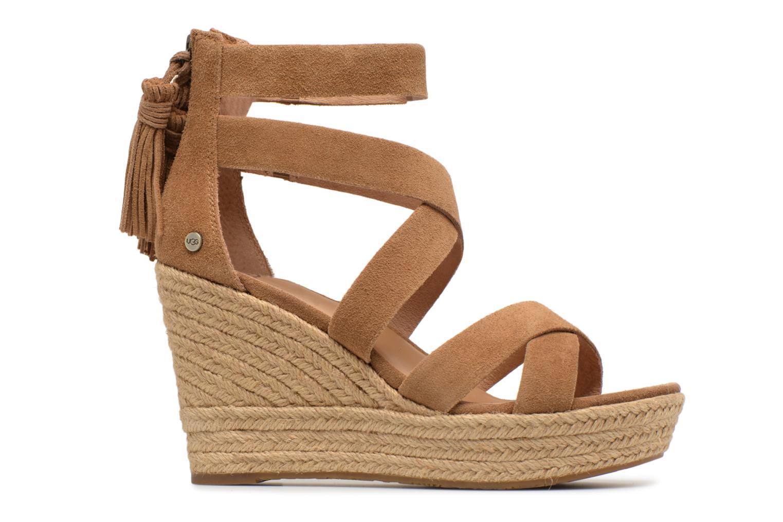 Sandales et nu-pieds UGG Raquel Beige vue derrière
