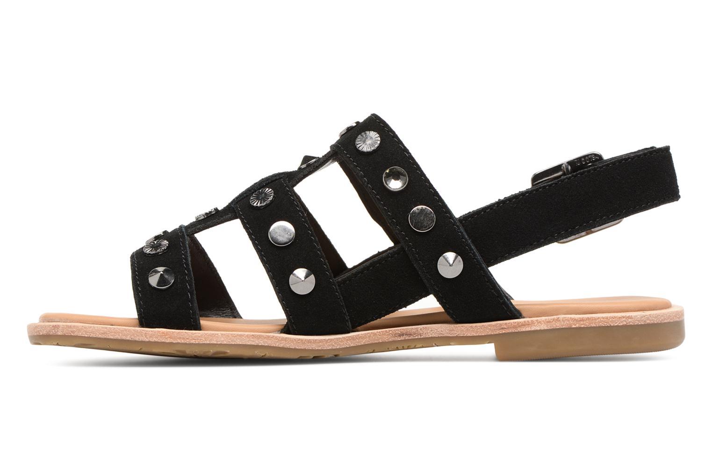 Sandales et nu-pieds UGG Zariah Studded Bling Noir vue face