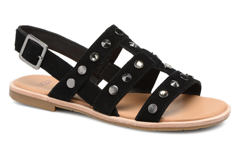 Sandales et nu-pieds UGG Zariah Studded Bling Noir vue détail/paire