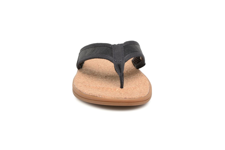 Tongs UGG Seaside Flip Bleu vue portées chaussures
