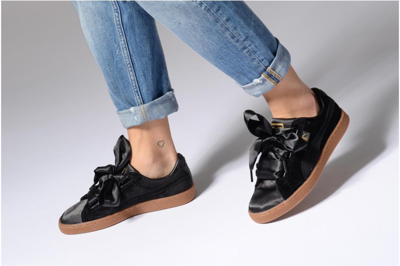 Sneakers Puma Suede Heart VS Wn's Sort se forneden