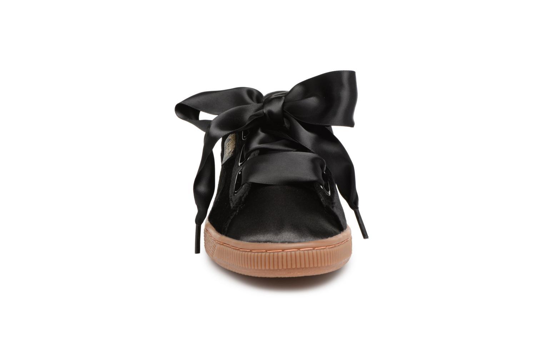 Sneakers Puma Suede Heart VS Wn's Sort se skoene på