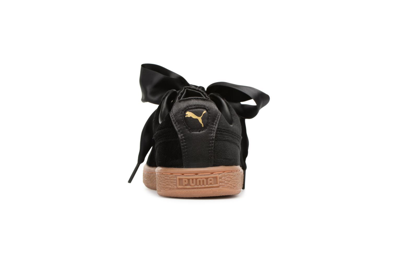 Sneakers Puma Suede Heart VS Wn's Sort Se fra højre