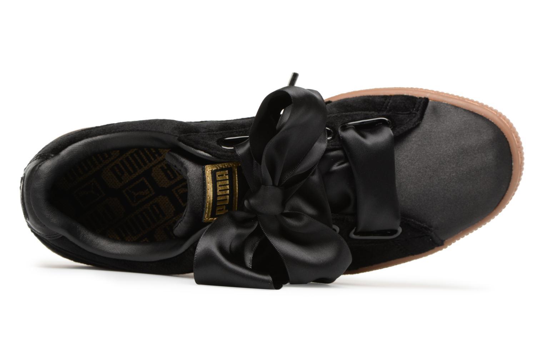 Sneakers Puma Suede Heart VS Wn's Sort se fra venstre