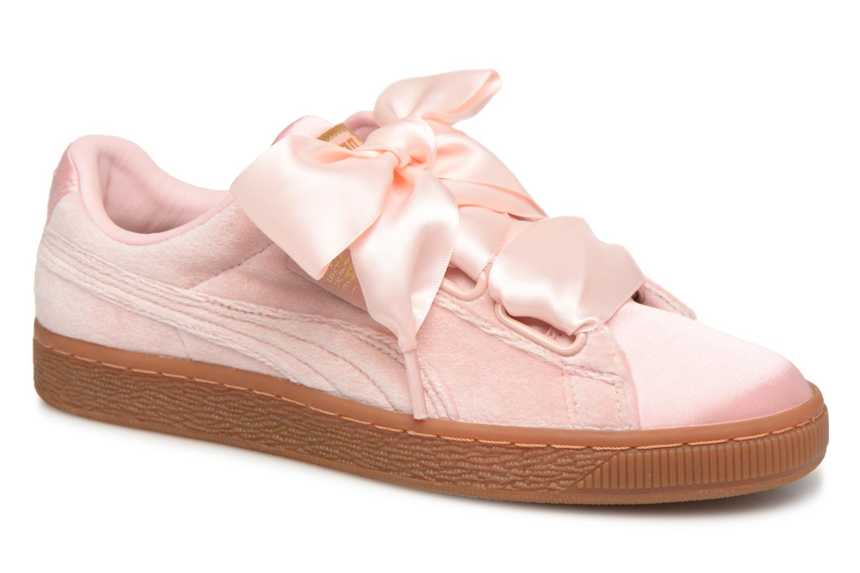 Zapatos de mujer baratos zapatos de mujer Puma Suede Heart VS Wn's (Rosa) - Deportivas en Más cómodo