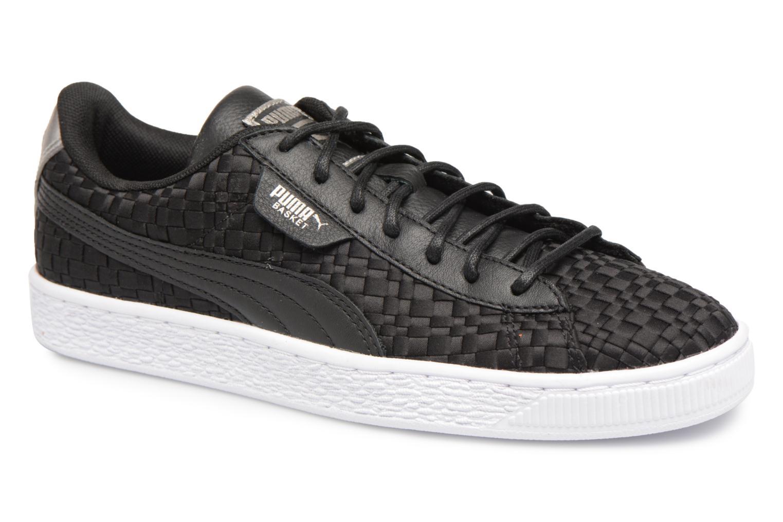 Grandes descuentos últimos zapatos Puma Basket Satin EP Wn's (Negro) - Deportivas Descuento
