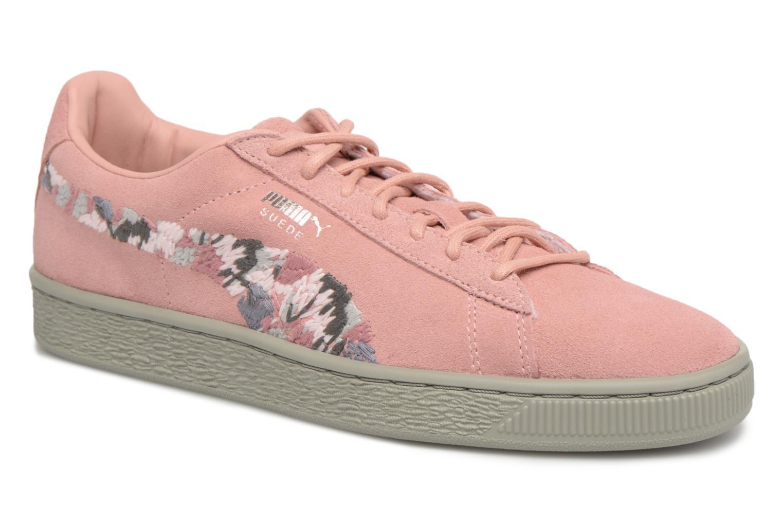 Puma - Damen - B Suede Sunfade Stitch Wn's - Sneaker - rosa BTH1Zi