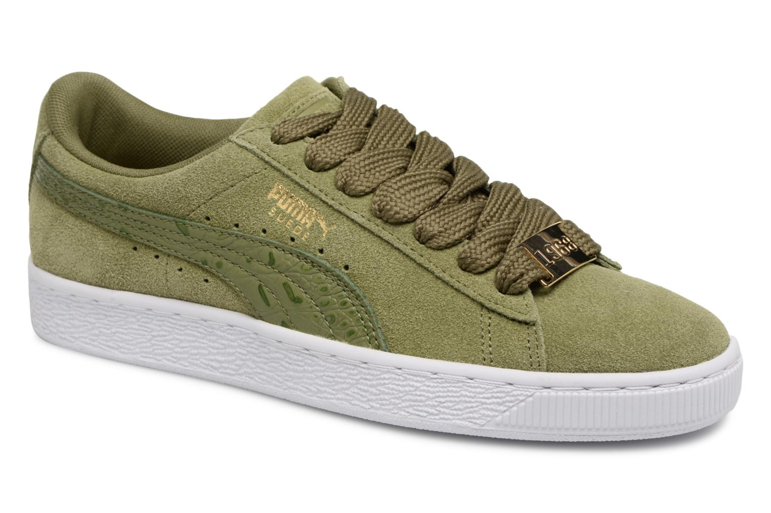 Marques Chaussure homme Puma homme Suede Classic B-BOY Fabulous Capulet Olive