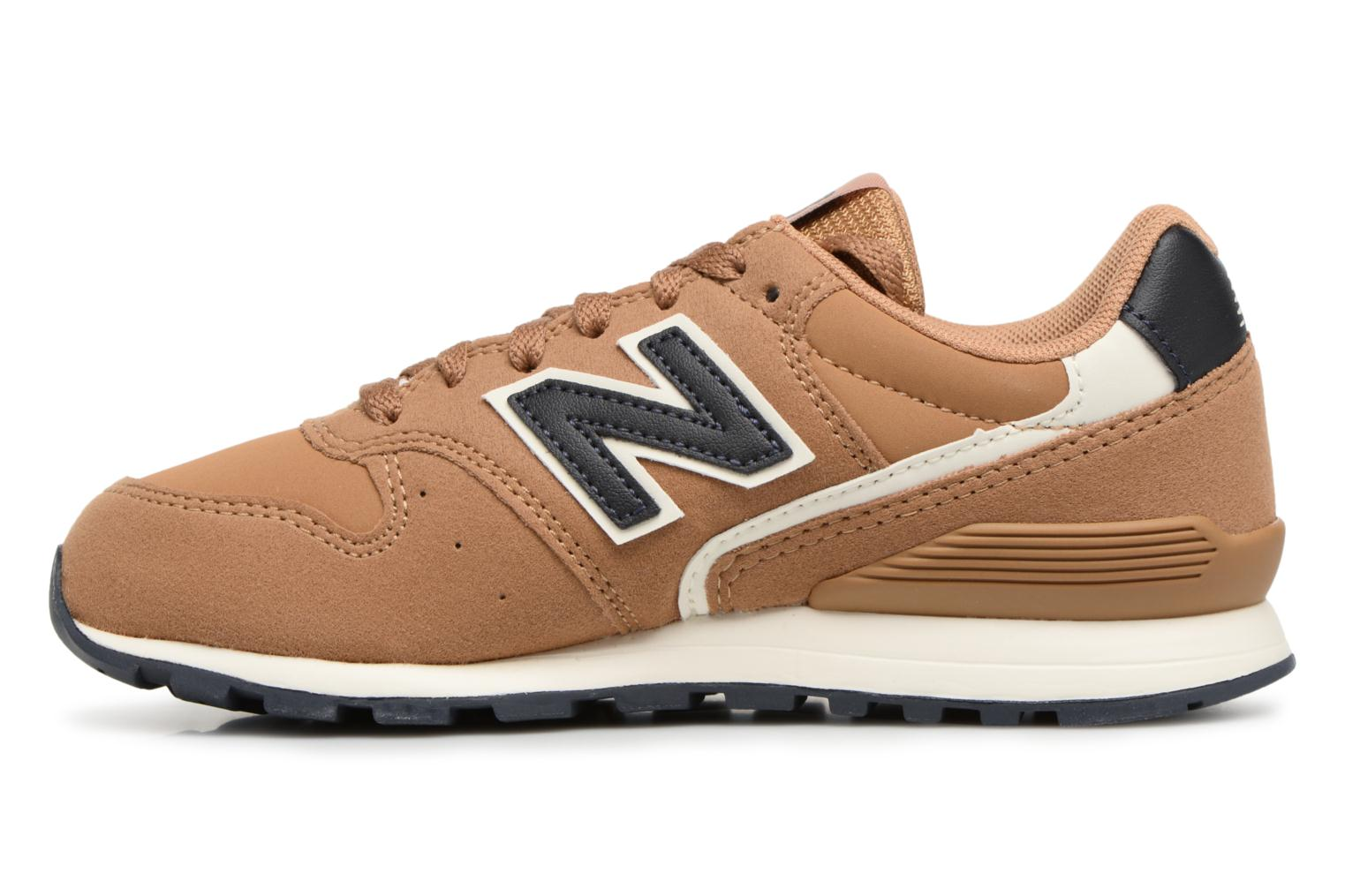 Baskets New Balance KJ996 M Beige vue face