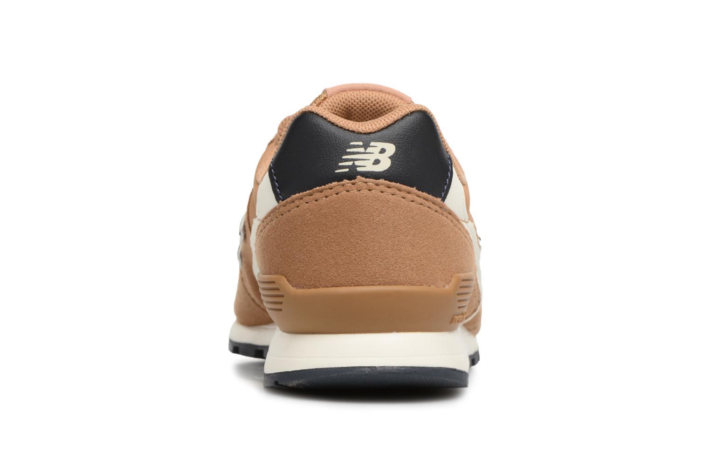 Sneaker New Balance KJ996 M beige ansicht von rechts