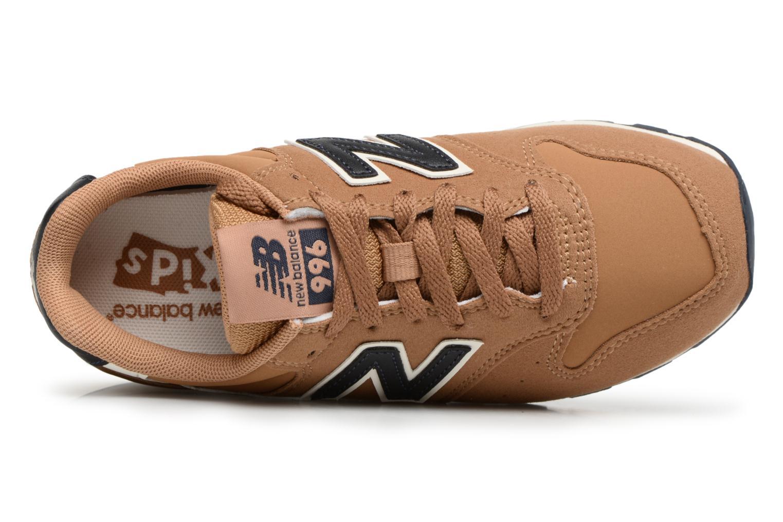 Sneaker New Balance KJ996 M beige ansicht von links