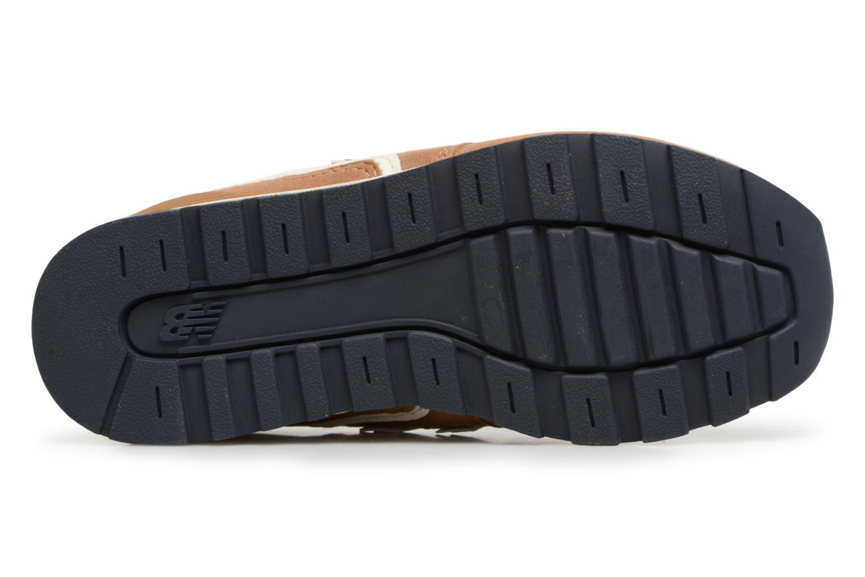 Sneaker New Balance KJ996 M beige ansicht von oben