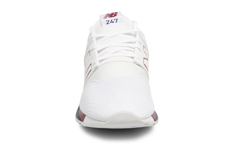 Baskets New Balance MRL247 D Blanc vue portées chaussures