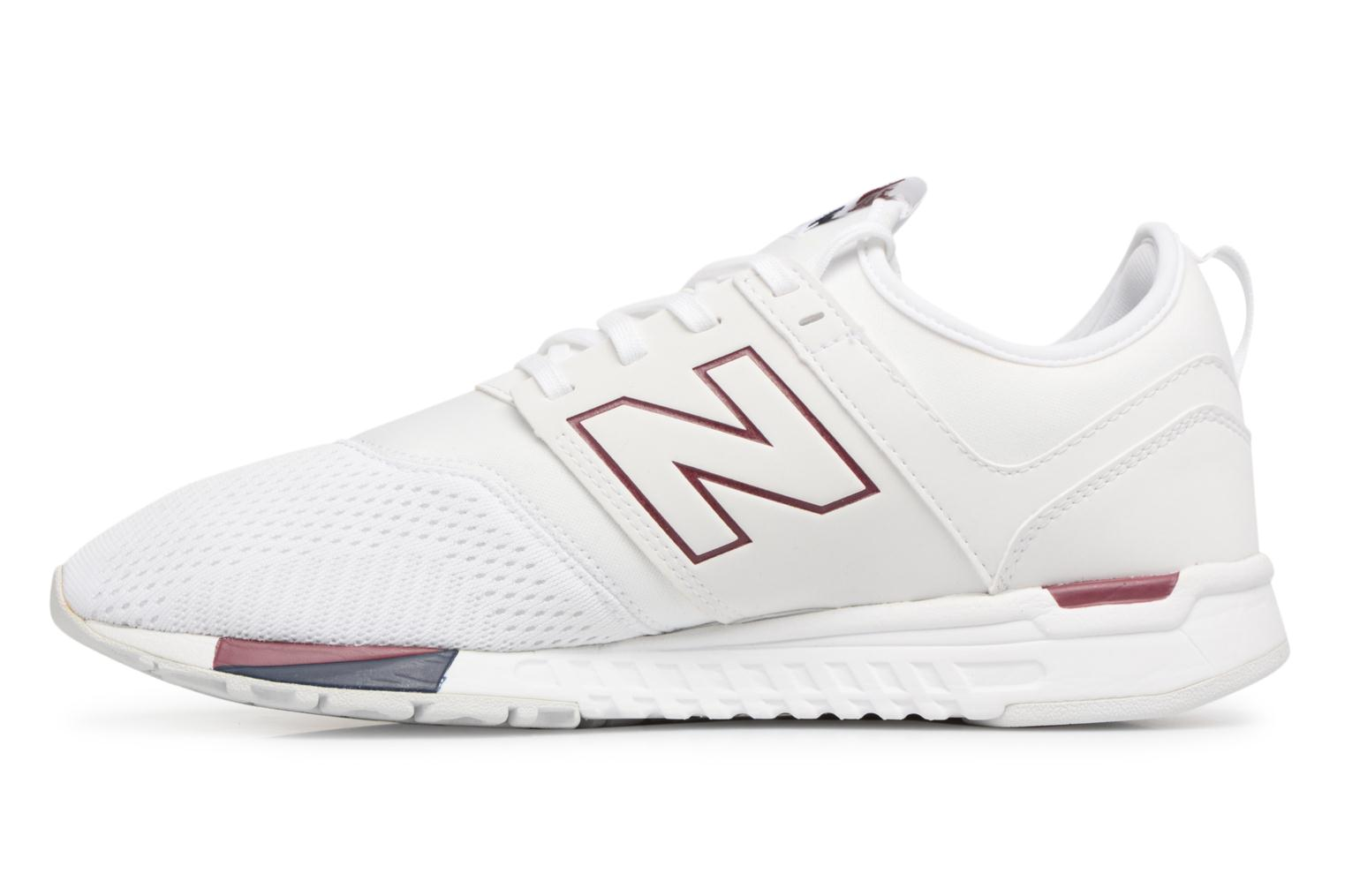 Baskets New Balance MRL247 D Blanc vue face