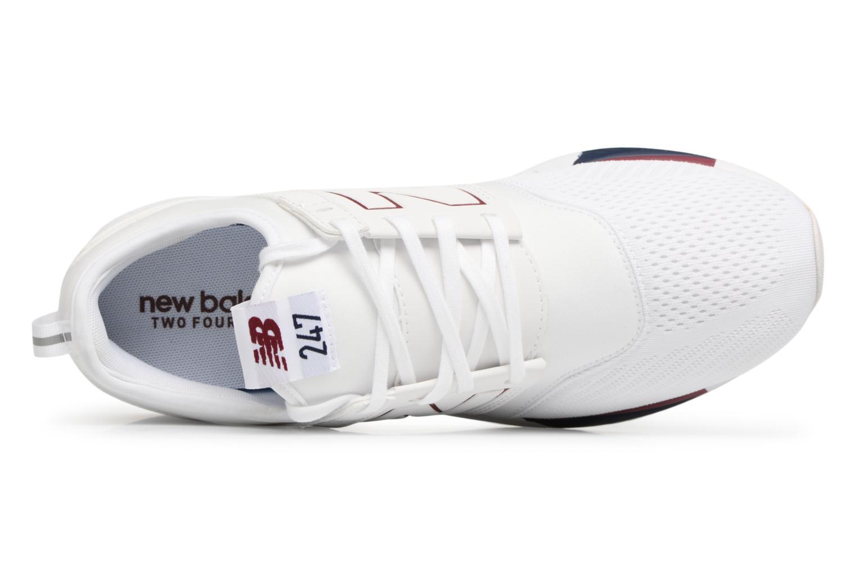 Baskets New Balance MRL247 D Blanc vue gauche
