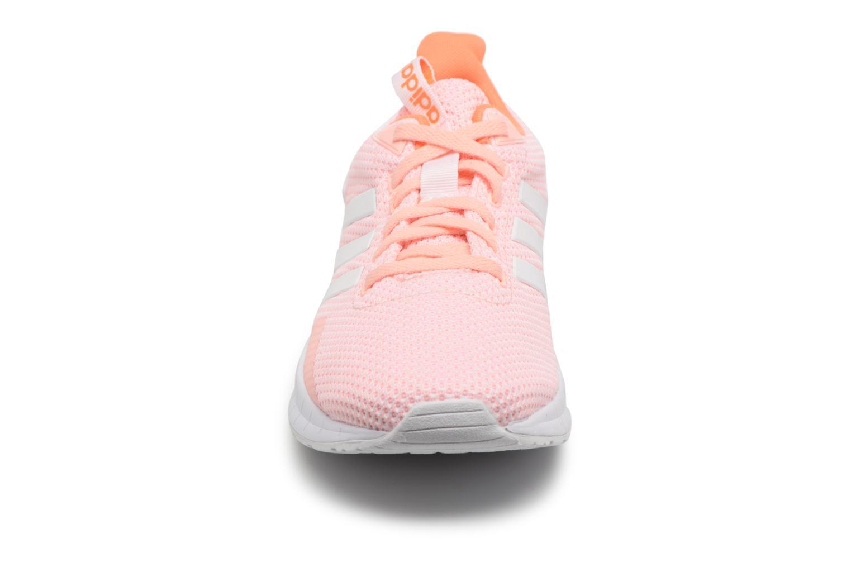 Chaussures de sport Adidas Performance Questar Ride W Rose vue portées chaussures