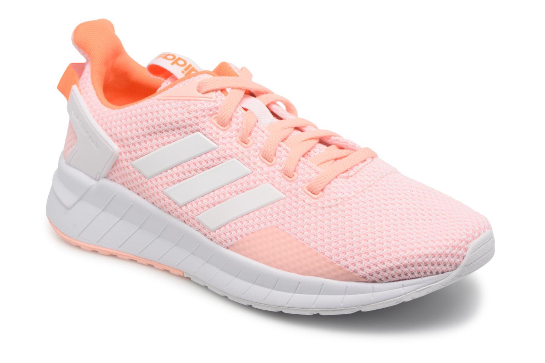 Chaussures de sport Adidas Performance Questar Ride W Rose vue détail/paire