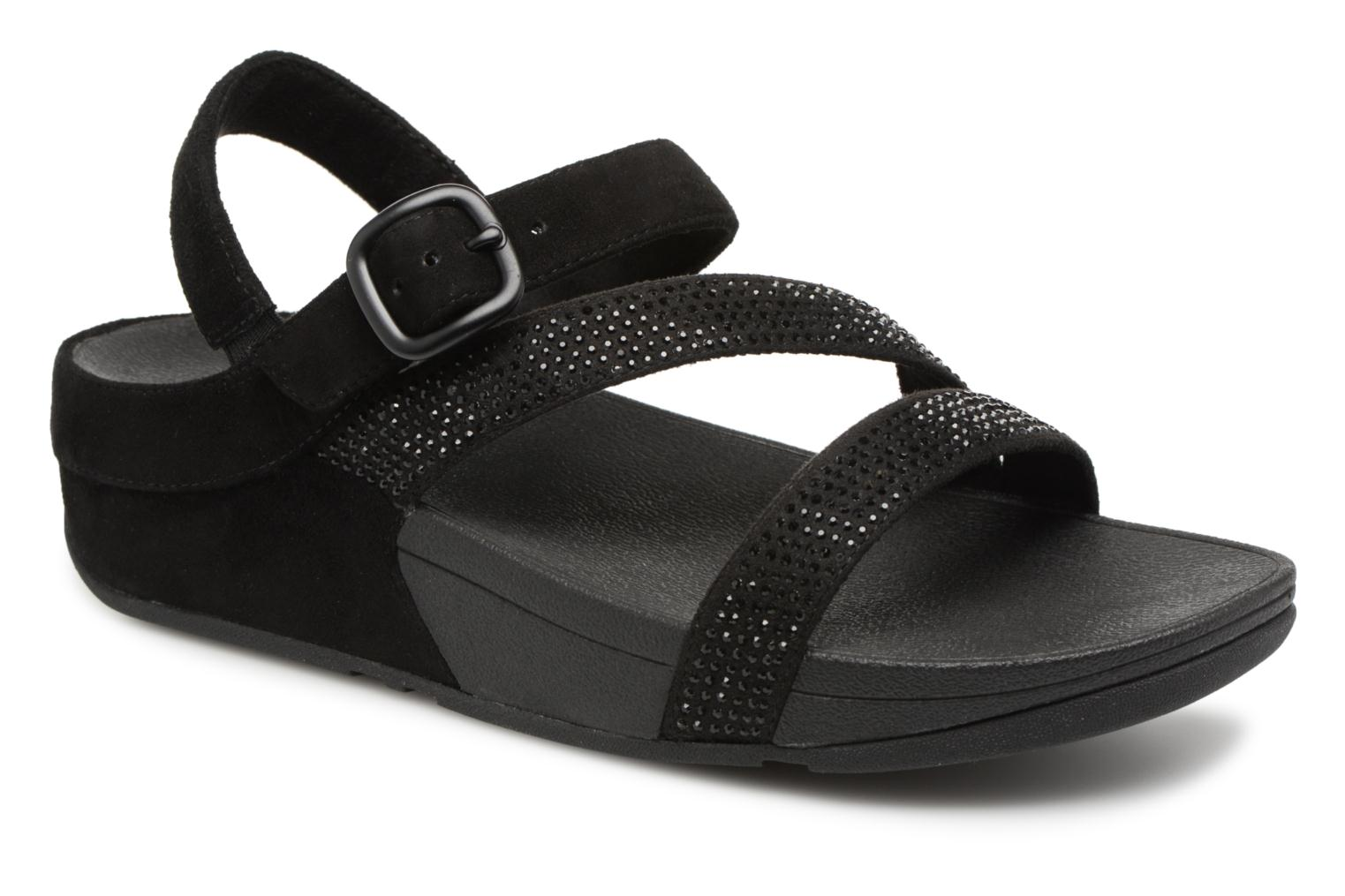 Marques Chaussure femme FitFlop femme Slinky Rokkit Z Strap Sandal All black