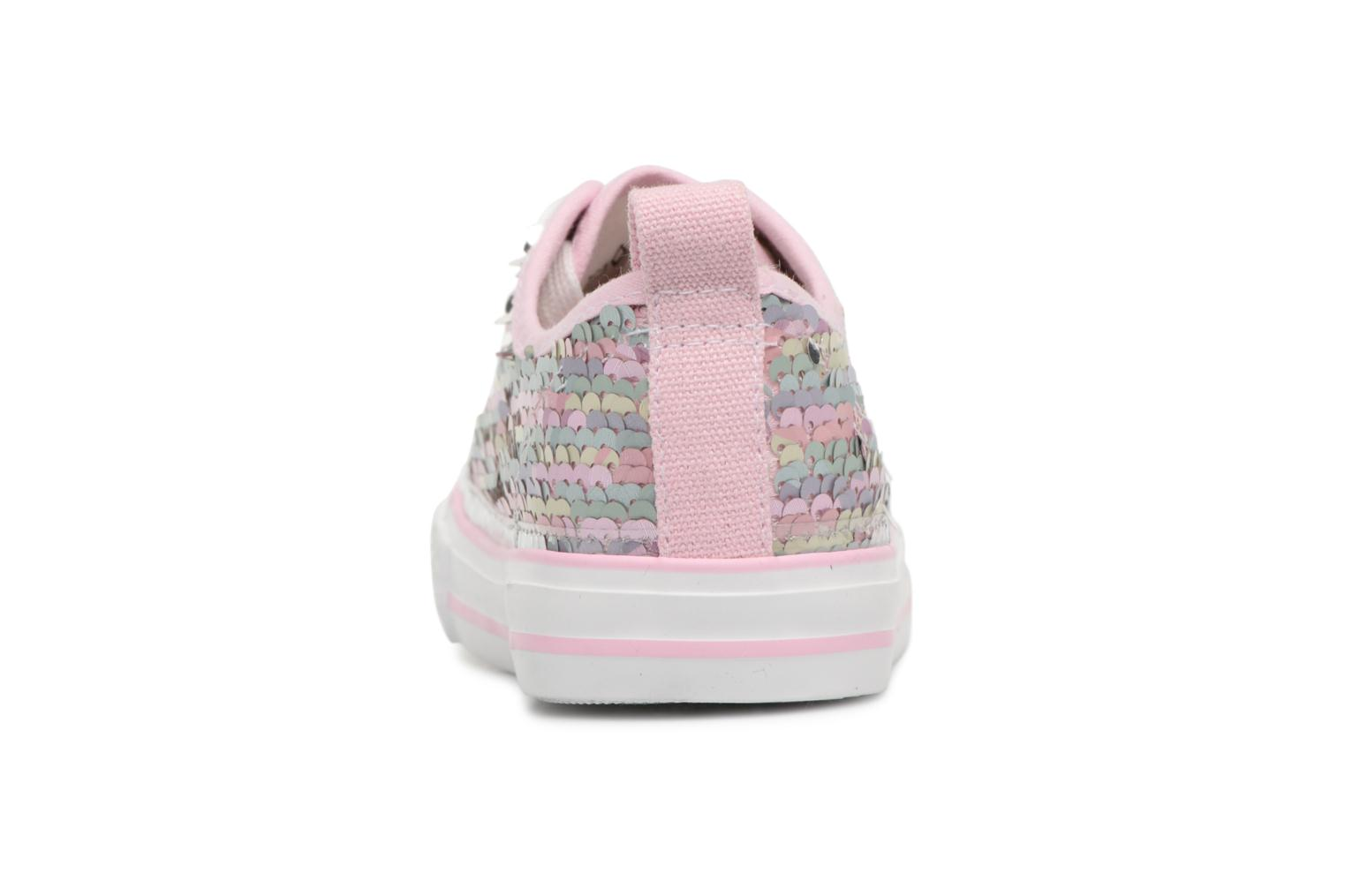 Baskets I Love Shoes Thiciel Rose vue droite