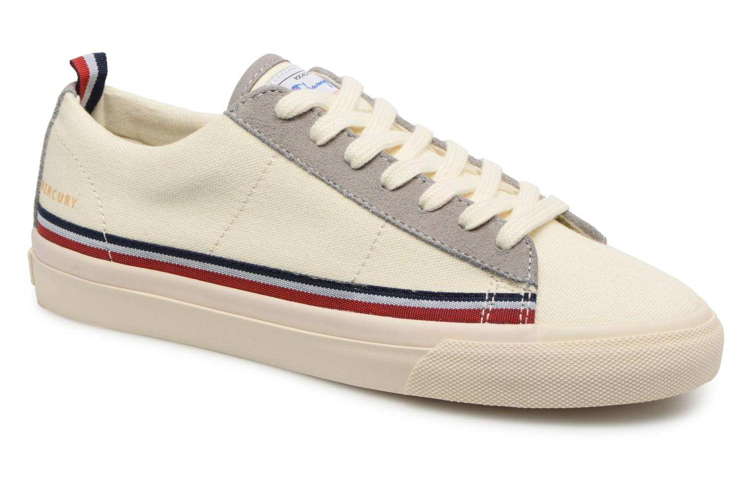 Zapatos cómodos y versátiles Champion Low Cut Shoe MERCURY LOW CANVAS W (Blanco) - Deportivas en Más cómodo