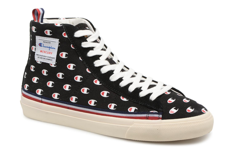 Zapatos promocionales Champion Mid Cut Shoe MERCURY MID CANVAS W (Negro) - Deportivas   Gran descuento
