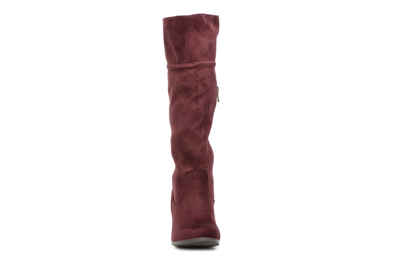Bottes Refresh 63719 Bordeaux vue portées chaussures
