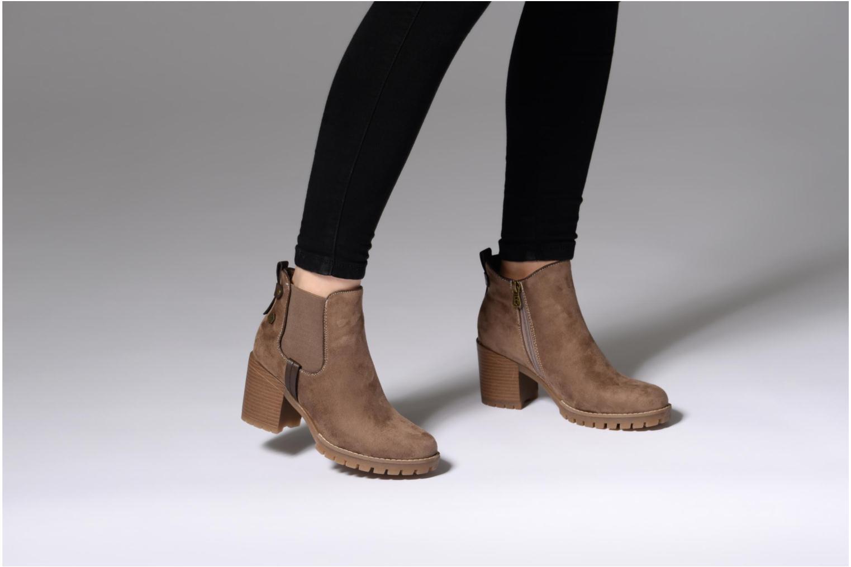 Bottines et boots Refresh 63885 Marron vue bas / vue portée sac