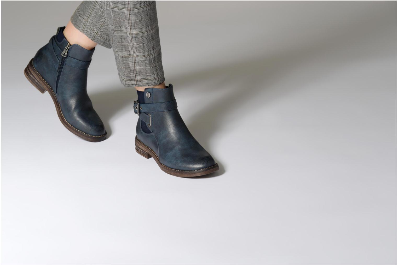 Bottines et boots Refresh 63897 Bleu vue bas / vue portée sac
