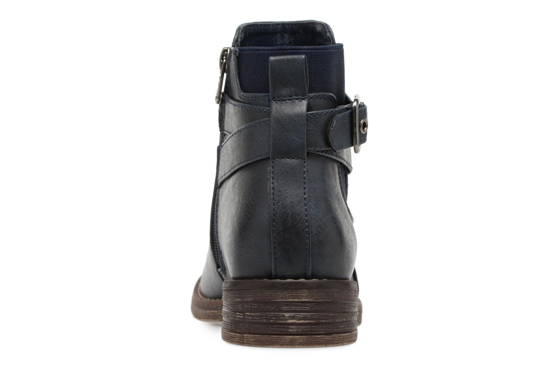 Bottines et boots Refresh 63897 Bleu vue droite