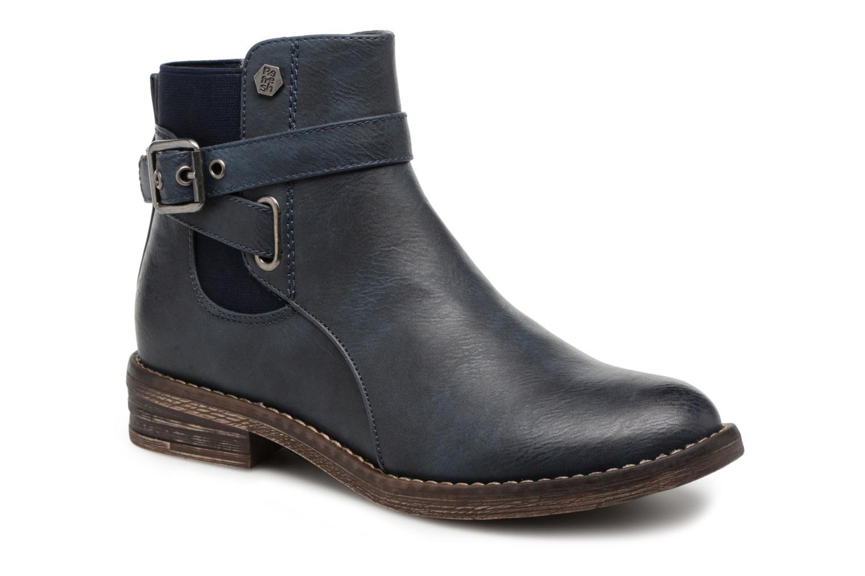 Bottines et boots Refresh 63897 Bleu vue détail/paire
