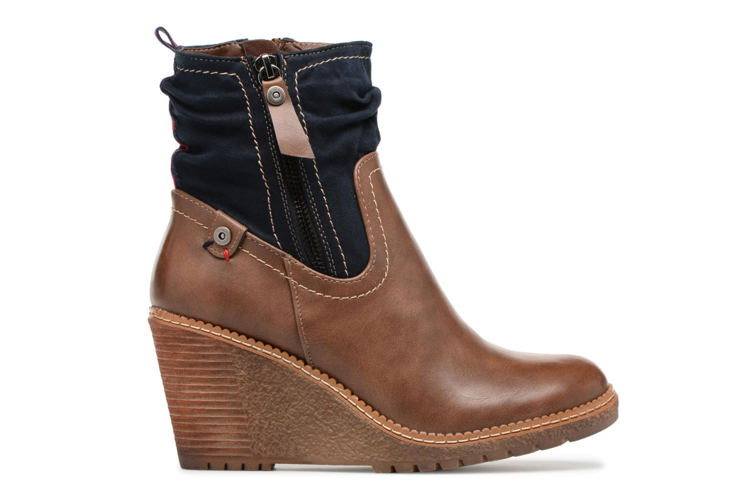 Ankle boots Refresh 63995 Brown back view