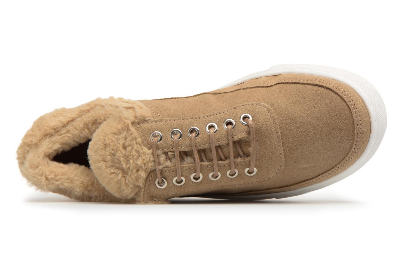 Steve Madden Iona Sneaker Beige 6KEXV