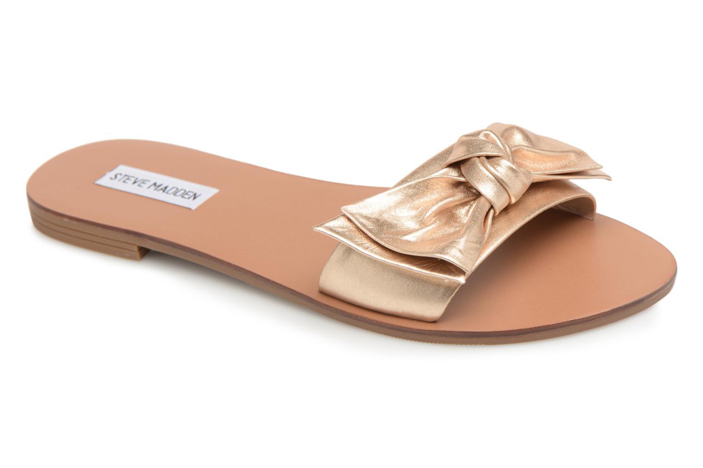 Knotss Slipper Gold metallic