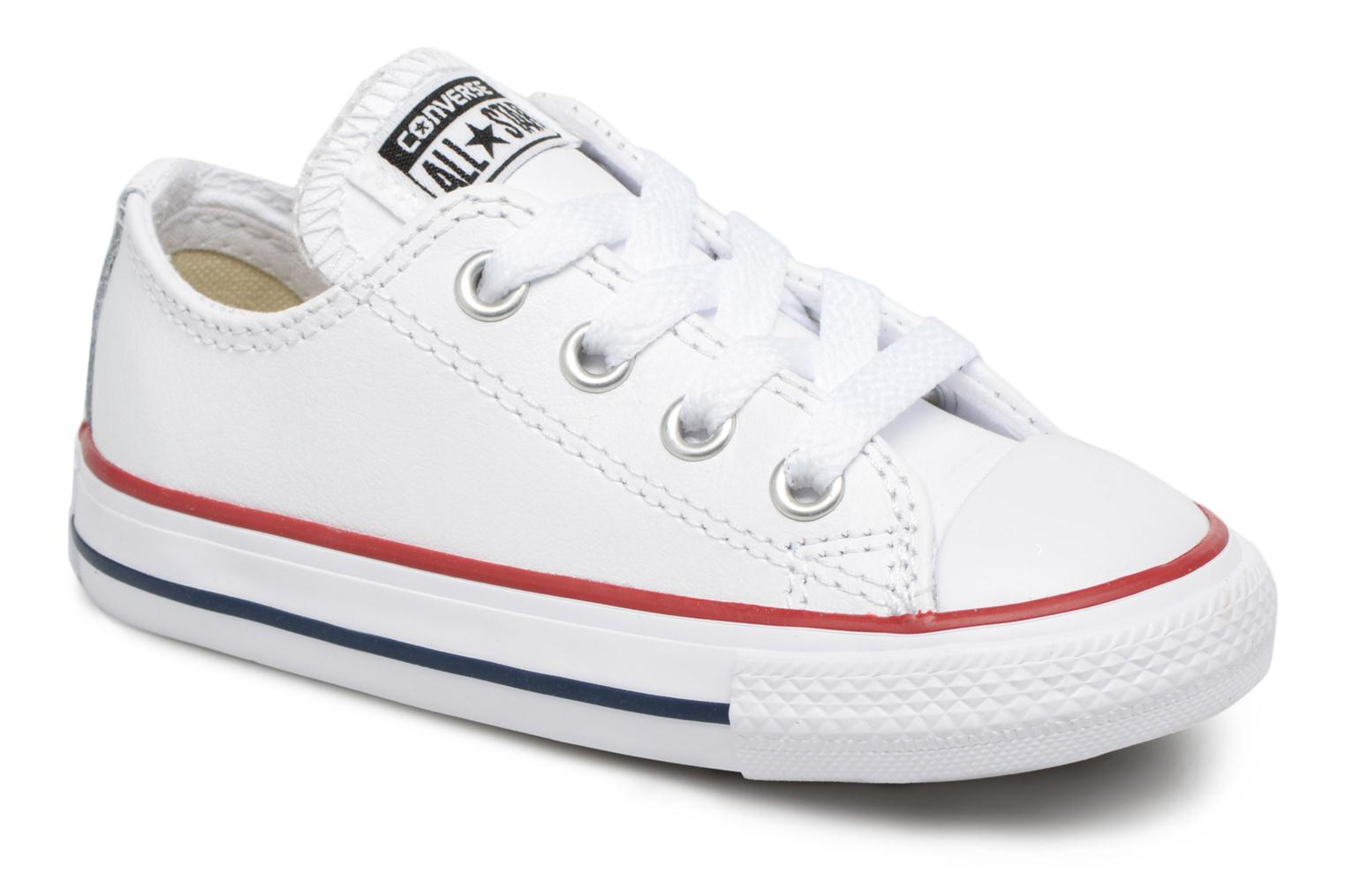 f836d43e253 Converse Chuck Taylor All Star Ox (Wit) - Sneakers chez Sarenza (325983)