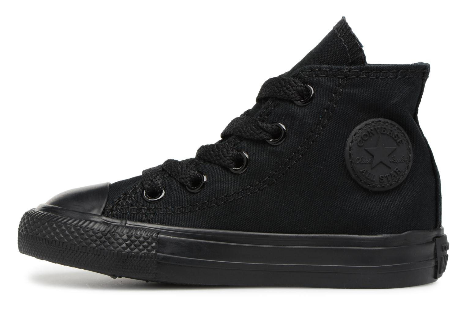 Baskets Converse Chuck Taylor All Star  Hi Noir vue face