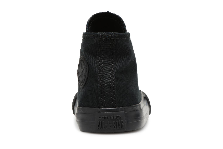 Sneaker Converse Chuck Taylor All Star  Hi schwarz ansicht von rechts