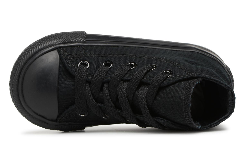 Sneaker Converse Chuck Taylor All Star  Hi schwarz ansicht von links