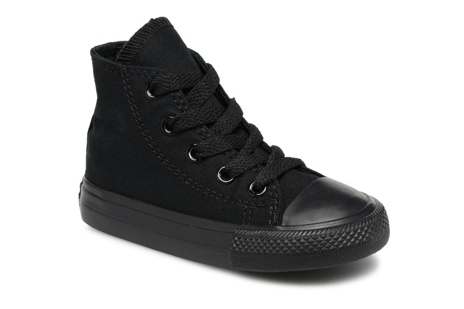 Baskets Converse Chuck Taylor All Star  Hi Noir vue détail/paire