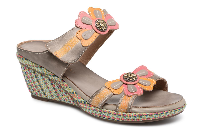 Grandes descuentos últimos zapatos Laura Vita BESANCON 39 (Multicolor) - Zuecos Descuento