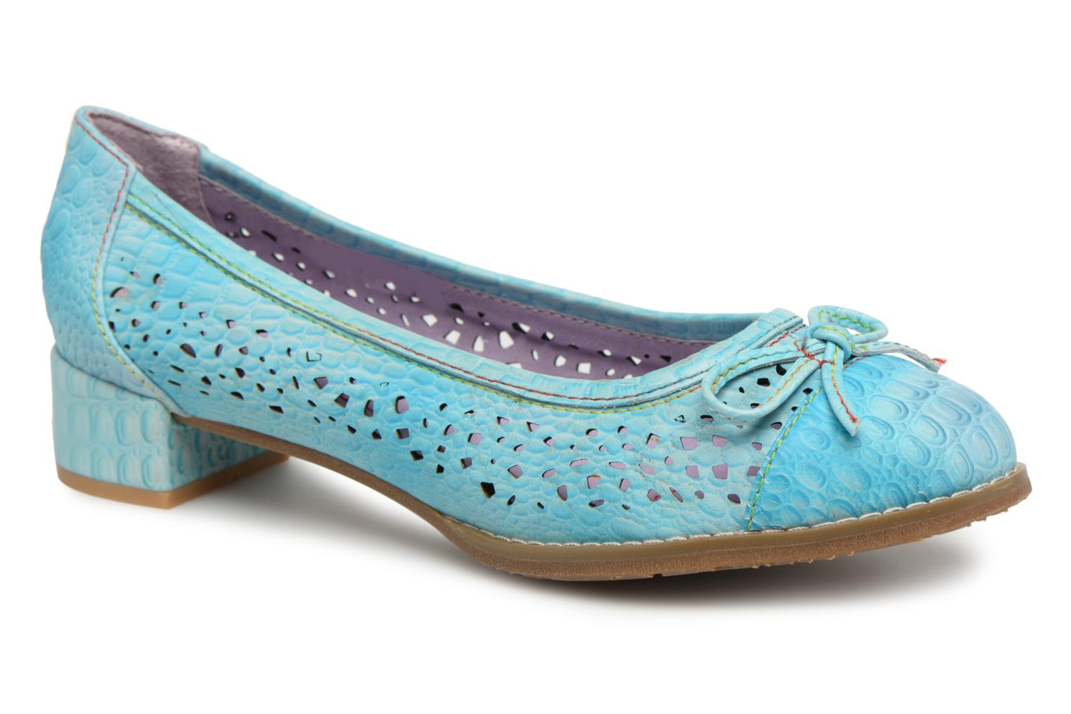 Marques Chaussure femme Laura Vita femme BRITTANY 02 Turquoise