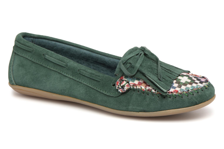 Zapatos promocionales Ippon Vintage MOC-WAX (Verde) - Mocasines   Venta de liquidación de temporada