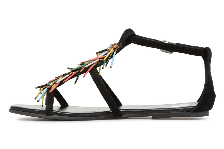 Sandales et nu-pieds Gioseppo ALOTI Noir vue face