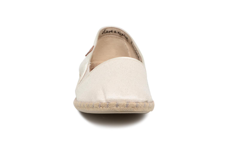 Espadrilles Gioseppo TOPOLETTI Blanc vue portées chaussures