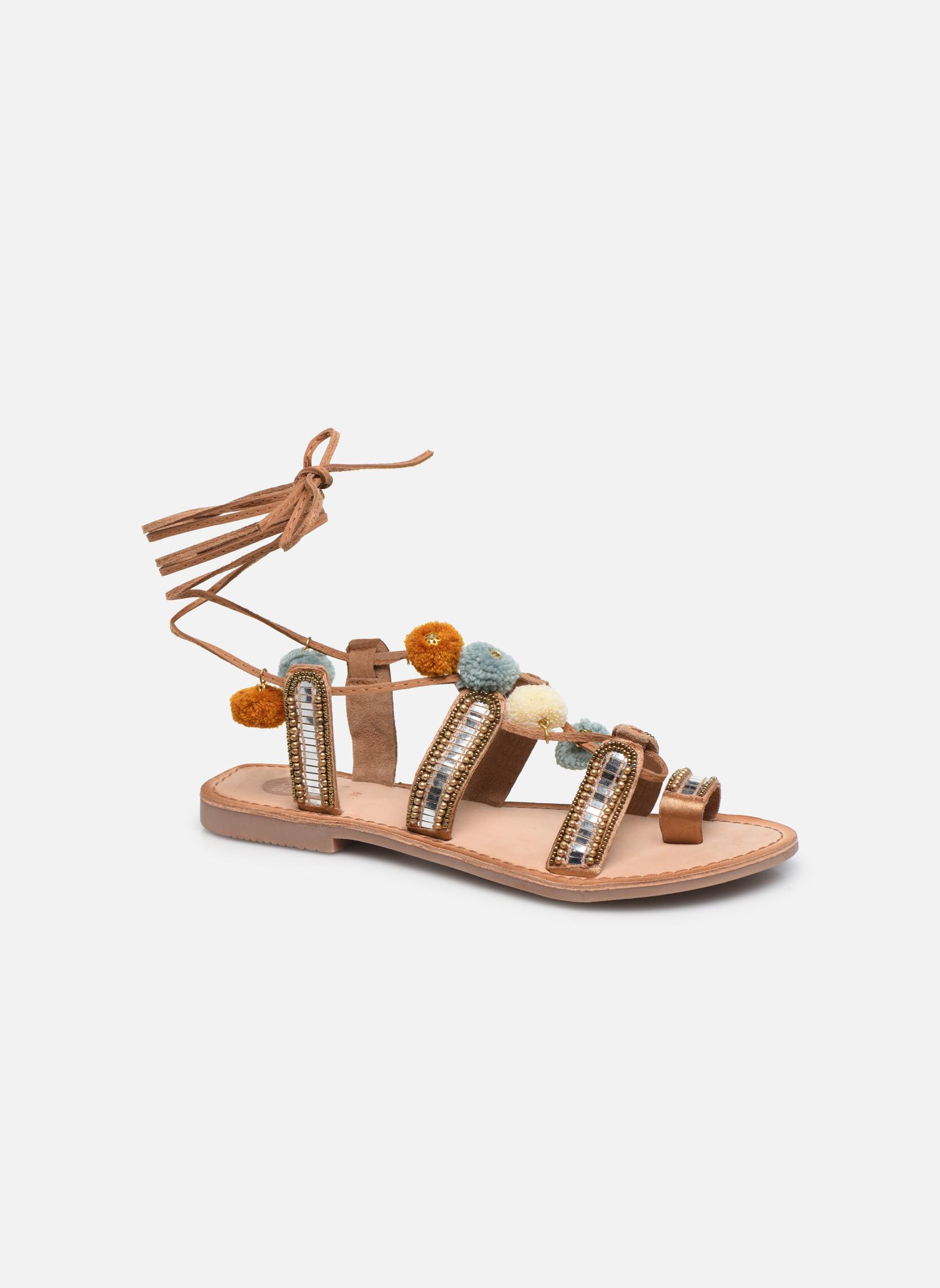 buy popular 774e6 62f2e Zapatos promocionales Gioseppo NAYELI (Oro y bronce) - Sandalias Venta de  liquidación de temporada