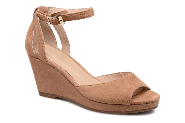 Zapatos de hombres y mujeres de moda casual JB MARTIN Quasar (Marrón) - Sandalias en Más cómodo