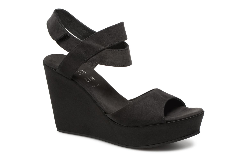 Elizabeth Stuart Berny 255 (Noir) - Sandales et nu-pieds chez Sarenza (326689)